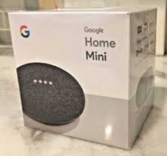 New Unopened Google - Home Mini - Smart Speaker with Google Assistant