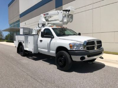 Terex Hi-Ranger TL37M-Under CDL Bucket Truck For Sale.