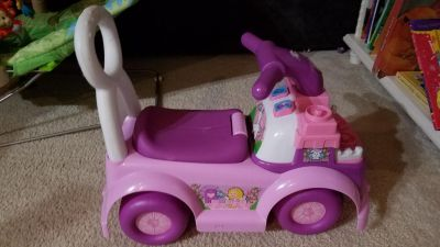 Fisher Price push/ride on car