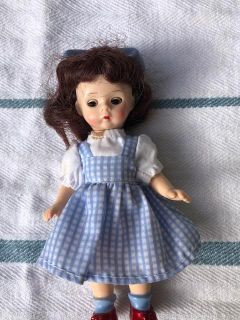 """Madame Alexander Doll Dorothy Miniature 5"""" Signed Wizard Of Oz"""