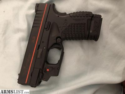 For Sale: XDS .45 With laser