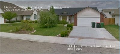 4 bedroom 2 bath Single Family Home for Rent