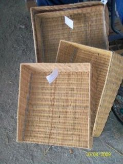 Restaurant grade large wicker Bread baskets Brand
