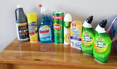 Cleaning Supplies!