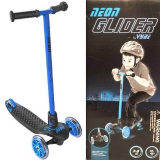 New! Yvolution Neon Glider by Vybe LED Light Kids 3-5yr Scooter