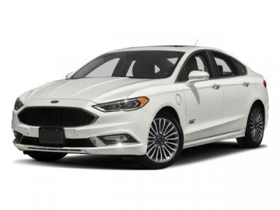 2018 Ford Fusion Energi Titanium (White)