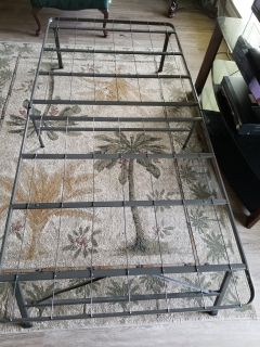 2 Metal Bed Frames...Xposted