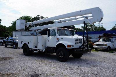 4x4 International 4800 Terex Hi-Ranger 5TC Bucket Truck For Sale