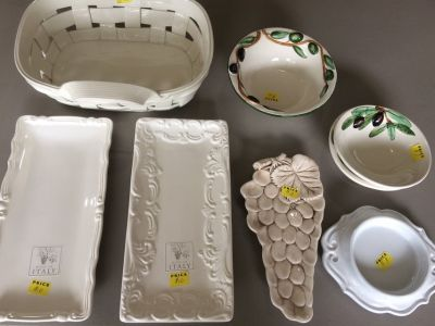 Ceramics from Nove, Italy