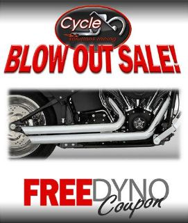 Sell VANCE & HINES BIG SHOT STAG EXHAUST HARLEY SOFTAIL motorcycle in Hartford City, Indiana, US, for US $539.95