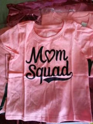Children's Place Mom Squad T-shirt Girls size 18-24 months