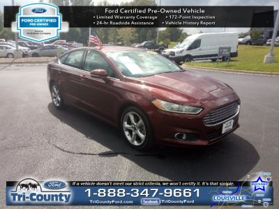 2016 Ford Fusion SE (Bronze Fire Metallic Tinted Clearcoat)