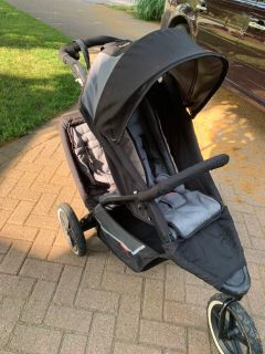 Hardly used double stroller