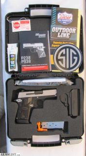 For Sale: Sig M938, 9mm ambi, w/night sights