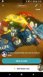 Futball soccer uniform jersey bramd nww with tags