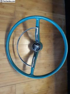 Hydrate Green Steering Wheel