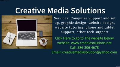 COMPUTER AND TECH SUPPORT Creative Media Solutions