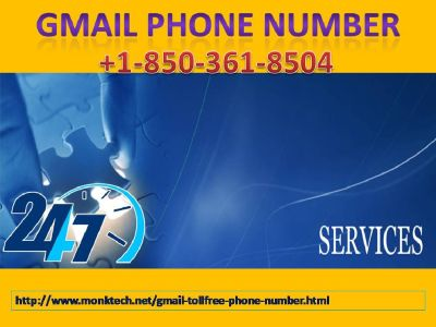 Dial Gmail Phone Number and Relax at 1-850-361-8504