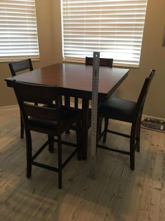 Counter High Kitchen Table
