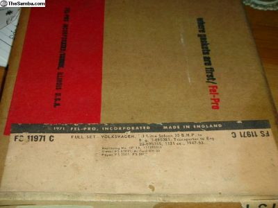 NOS Engine Transporter Full Gasket set 1947-1953