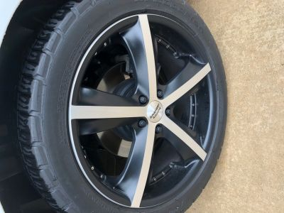 American Racing Phantom Wheel 5-115, 20x8.5, +38 offset