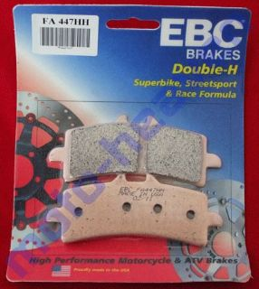 Find Ducati EBC FA447HH Front Brake Pads Desmosedici RR D16RR 1098 S R 1098S 1098R motorcycle in Sugar Grove, Pennsylvania, United States, for US $64.99