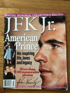 JFK JR MEMORIAL COLLECTOR'S EDITION MAGAZINE---GREAT SHAPE