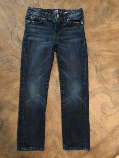Girls 7 For All Mankind Jeans 6X