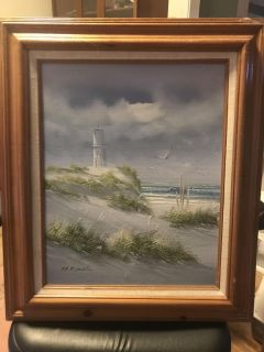 Light House Painting Picture