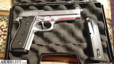 For Sale/Trade: Like new stainless Taurus PT92