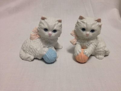 "Homco. Playful Kittens. #1410. 3"" Tall. Pick up at Target in McCalla on Thursdays 5:15 to 6:00pm."