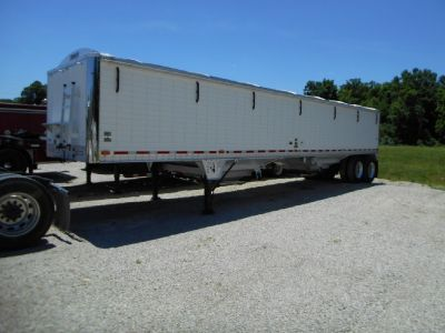 Hopper Grain Trailer Sharp Work Trailer Livestock Brand