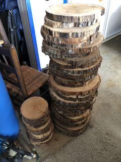 Real Wood Slices