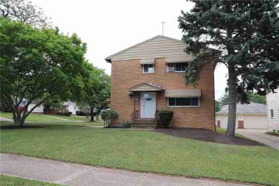 8280 Crudele Dr Garfield Heights, All brick two family on