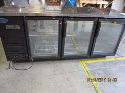 Entree, Glass Door Back Bar Bottle Cooler RTR#7013879-01