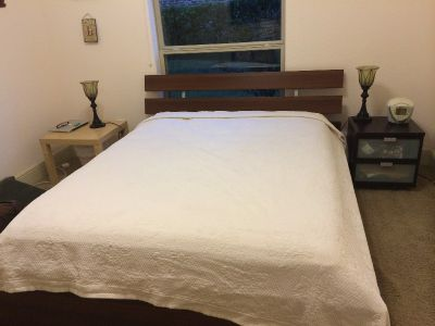 Bed Frame and Mattress Queen Size