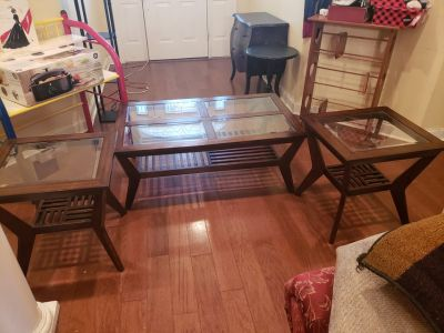 Coffee Table And End Tables!