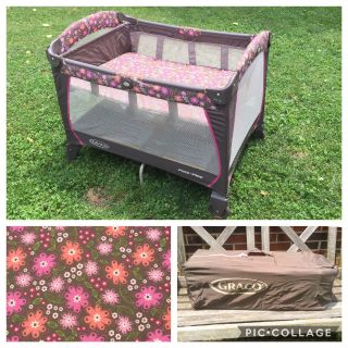 Graco Pack & Play, good condition, smoke-free home **READ PICK-UP DETAILS BELOW