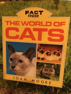 The World Of Cat Hardcover Book. Nice Condition. Look at all pictures provided