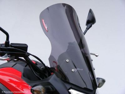 Purchase Honda NC700X NC750 X Flip Touring Windshield Shield Clear - MADE IN UK (PB) motorcycle in Ann Arbor, Michigan, United States, for US $99.95