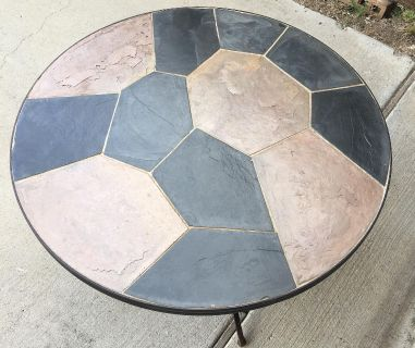 Pier 1 Mosaic Patio Side Table