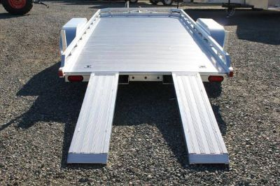 Aluma open car trailer