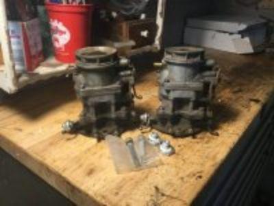 Pair of 81 ford carbs