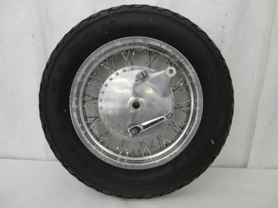 Purchase 1988-2010 Suzuki VS800 Intruder Rear Wheel, Rim, Tire, Brake Hub, & Axle 3153 motorcycle in Kittanning, Pennsylvania, US, for US $49.99