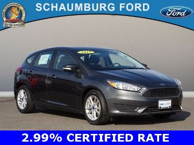 2017 Ford Focus SE (magnetic)