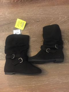 Toddler size 9 boots new with tags