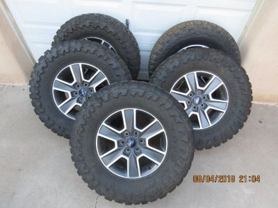 Ford pickup wheels and tires