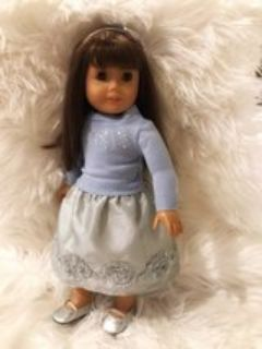 American Girl Doll Formal Winter Outfit