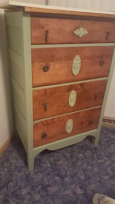 Antique dresser.