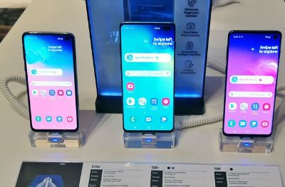 Samsung Galaxy S10 and S10+ Dual SIM Smartphone